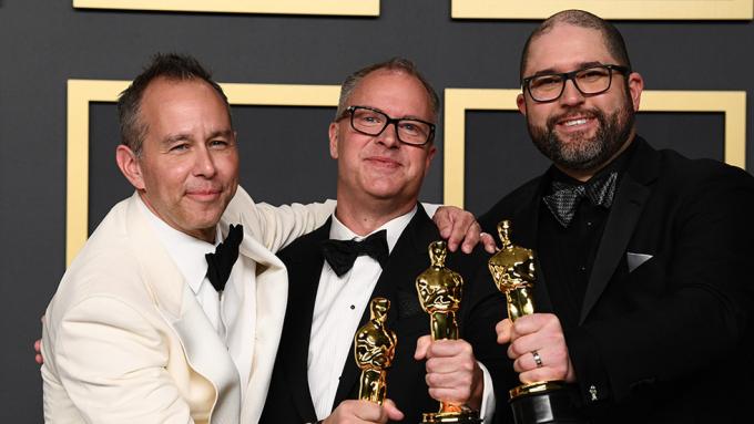 Êkip Toy Story 4 nhận Oscar Phim hoạt hình hay nhất.