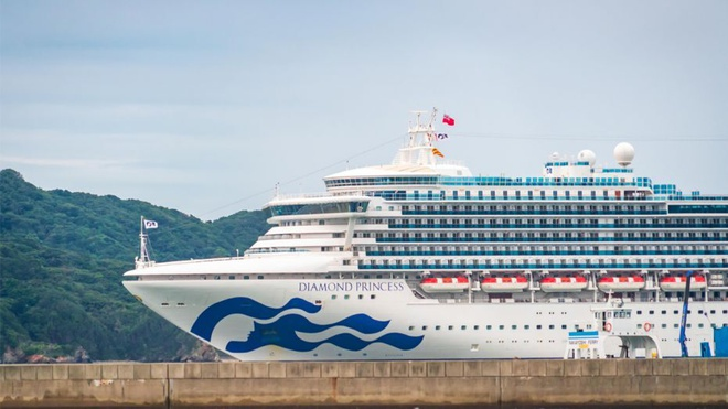 Tàu Diamond Princess.