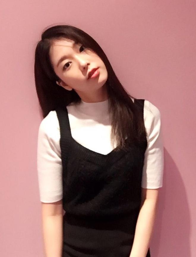 Go Soo Jung sở hữu vẻ đẹp trong trẻo, tinh khôi.