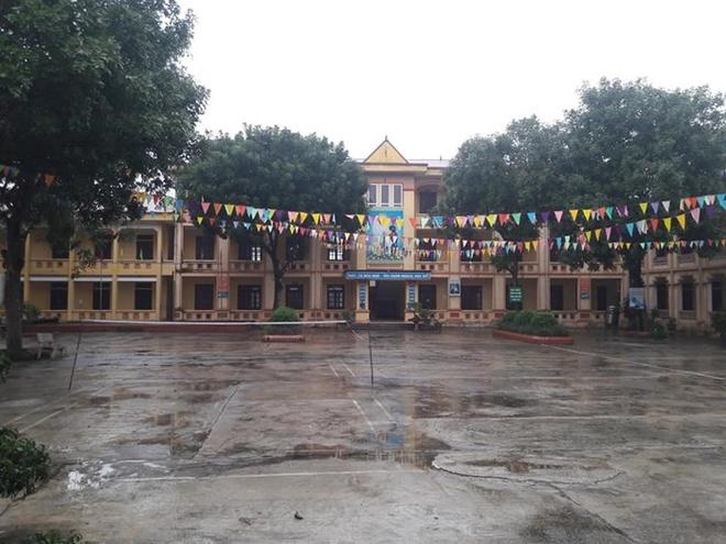 Trường THCS Sơn Lôi, Vĩnh Phúc.