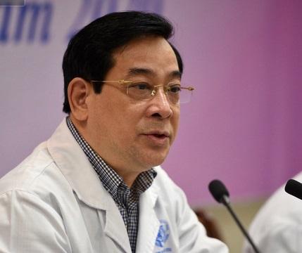 PGS.TS Lương Ngọc Khuê (Cục trưởng cục Quản lý khám chữa bệnh, Bộ Y tế).
