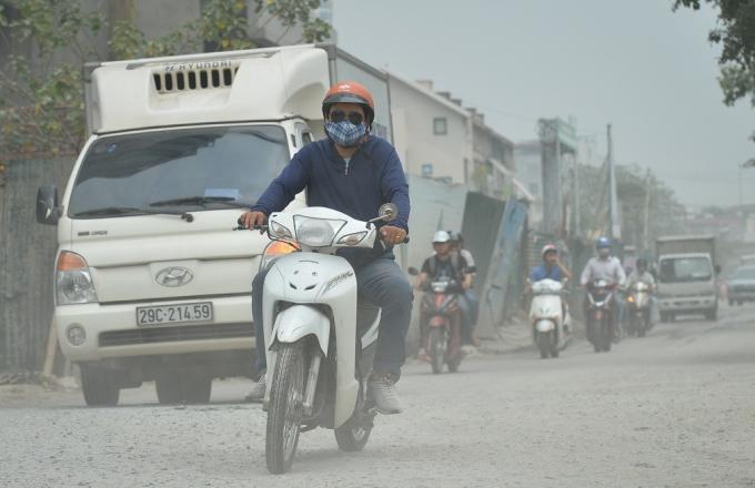 Nồng độ bụi mịn của Hà Nội đứng Top 6 các thành phố ở Đông Nam Á