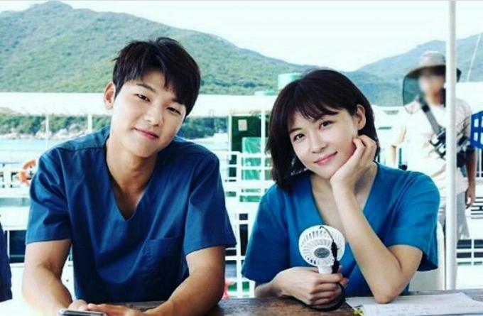 Ha Ji Won vàKang Min Hyuk.