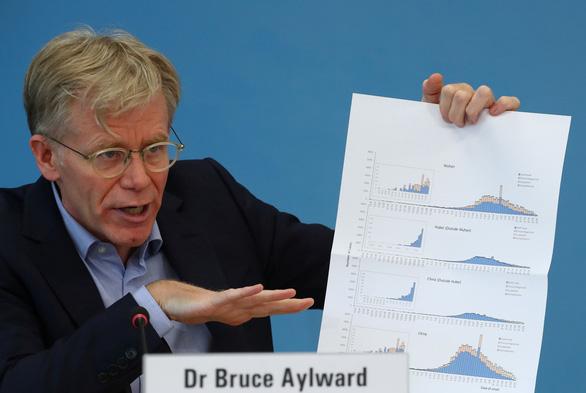 Ông Bruce Aylward, trưởng phái đoàn chuyên gia quốc tế của WHO tới Trung Quốc tìm hiểu về dịch bệnh covid-19.