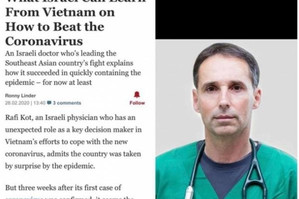 Bài báo được đăng tải trước đó của trangHaaretz.
