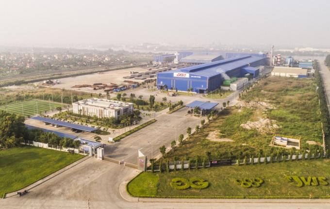 Công ty CP luyện thép cao cấp Việt Nhật