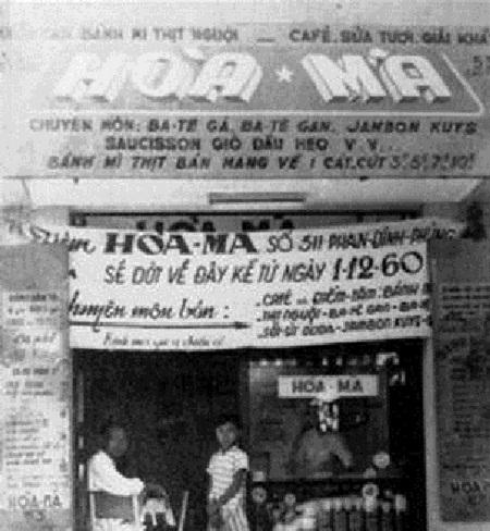 Tiệm bánh mỳ Hòa Mã xưa của Sài thành.