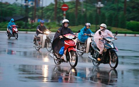 Thời tiết ngày 25/3: Khu vực Bắc Bộ có mưa rào, Hà Giang đề phòng lũ quét, sạt lở
