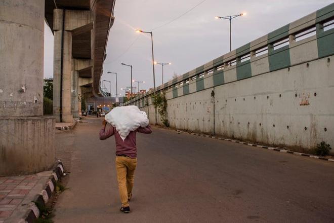 Đường phố thủ đô New Delhi thậm chí đã hoang vắng trước cả khi phong tỏa.