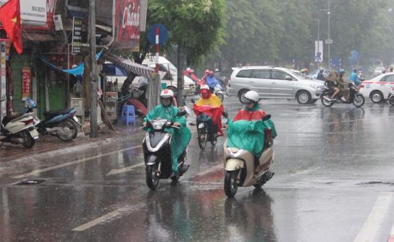 Miền Bắc đón không khí lạnh gây mưa dông