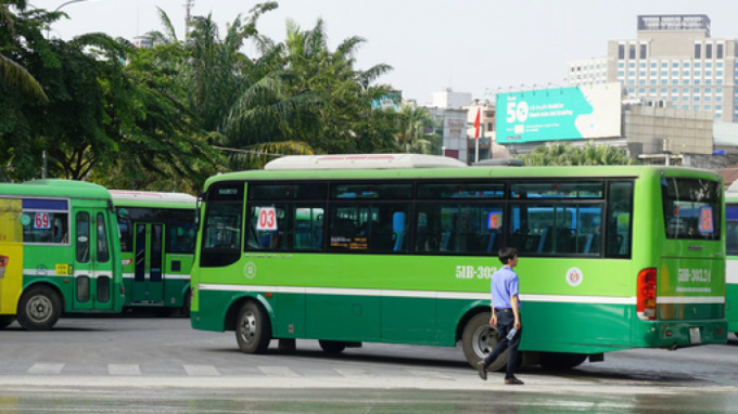TPHCM: Tạm dừng hoạt động xe buýt liên tỉnh từ 0h 28/3