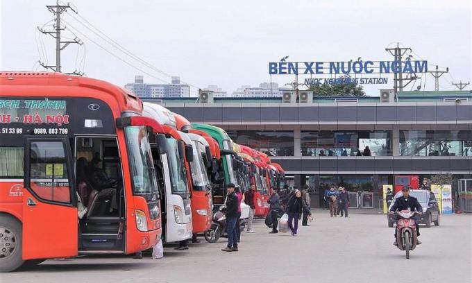 Bộ GTVT yêu cầu hạn chế vận chuyển khách từ Hà Nội, TPHCM đi các nơi