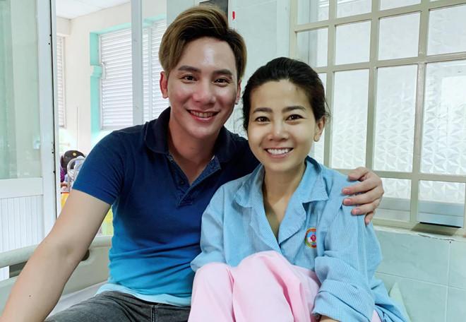 Hình ảnh mới nhất của Mai Phương được nghệ sĩ Ngọc Châu chia sẻ.