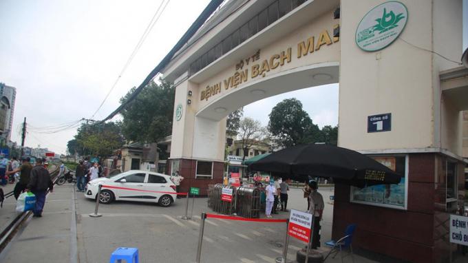 Bệnh viện Bạch Mai thông báo khẩn ngừng ra vào từ thời điểm này
