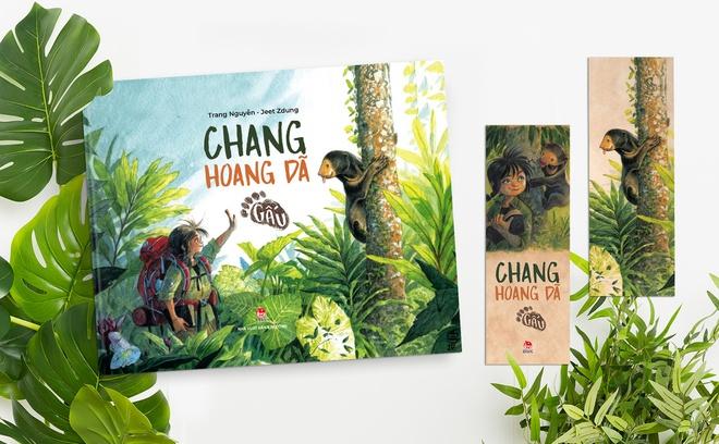 Bìa sách Chang hoang dã - Gấu.