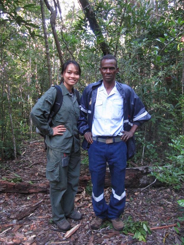 Nhà bảo tồn động vật Trang Nguyễn, trở về từ nơi hoang dã
