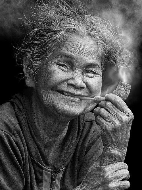 """Tác phẩm """"Cảm xúc hạnh phúc"""" của Vũ Duy Thông thuộc hạng mục ảnh Chân dung. Ảnh: Vũ Duy Thông."""