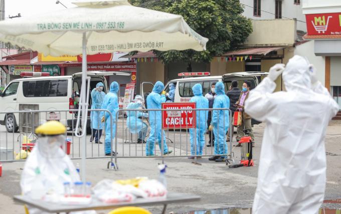 Bộ Y tế công bố thêm 1 ca nhiễm Covid-19 là người của thôn Hạ Lôi