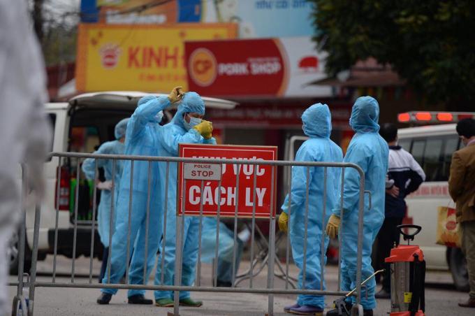 Samsung Việt Nam cho biết bệnh nhân  262 đã tự cách ly tại nhà từ 7/4