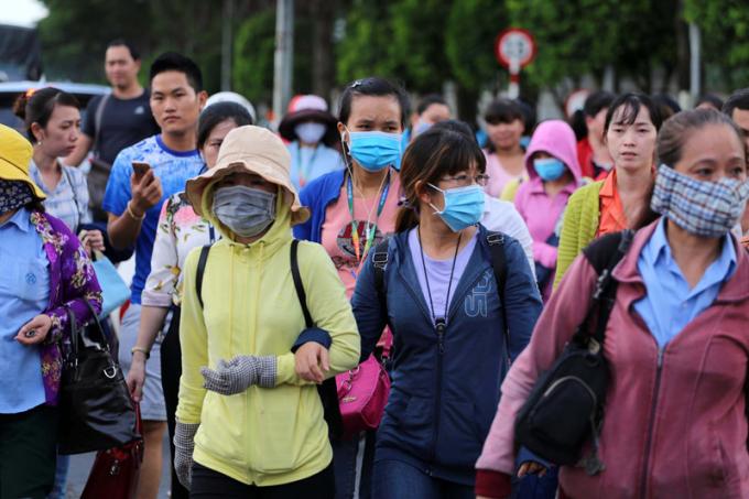 Chính phủ gửi công văn cho UBND TP HCM về việc phòng chống dịch tại PouYuen Việt Nam