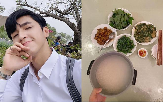 Dẫn đầu danh sách phải kể đến nam diễn viên Bình An. Anh chàng cũngđứng bếp nấu một bữa ăn thịnh soạn, tuy nhiên, sau khi xong xuôi tất cả thì quên chưa nấu cơm.