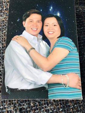 Tấm ảnh kỷ niệm của vợ chồng ông Sơn.