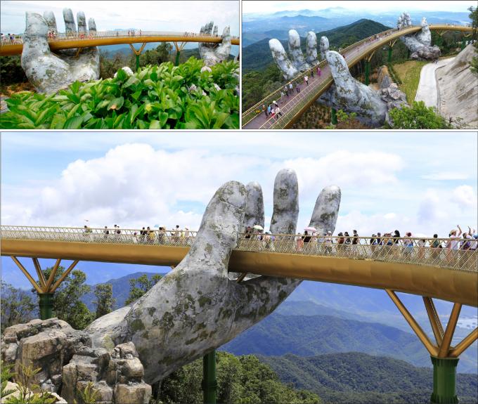 Cầu Vàng lọt vào danh sách những cây cầu đẹp nhất thế giới