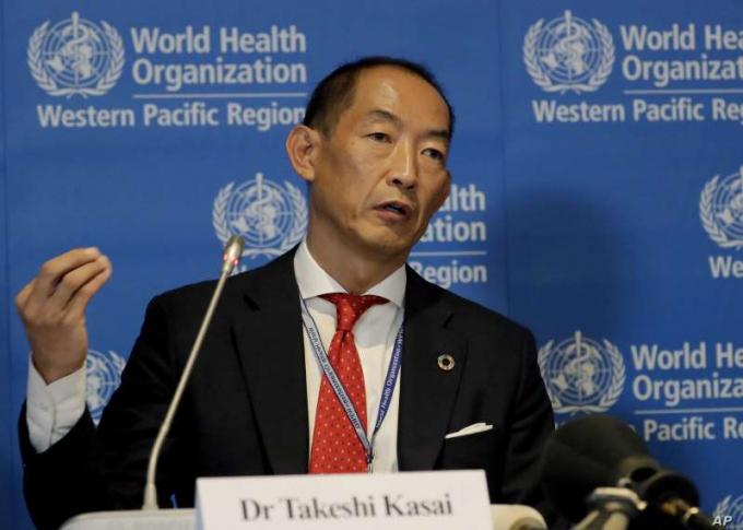Giám đốc WHO khu vực Tây Thái Bình Dương, ông Takeshi Kasai.