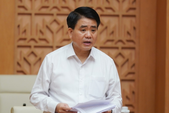 Chủ tịch Hà Nội Nguyễn Đức Chung. Ảnh: VGP.