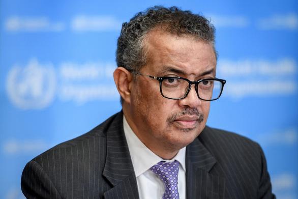 Tổng giám đốc WHOTedros Adhanom Ghebreyesus