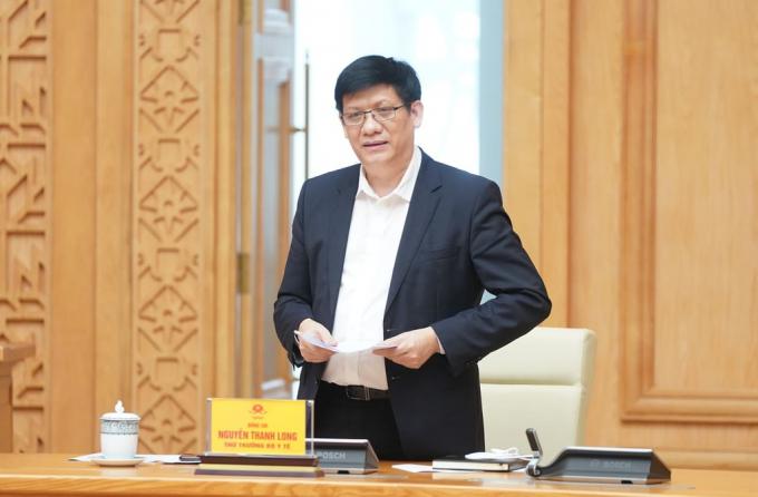 Thứ trưởng Bộ Y tế Nguyễn Thanh Long.