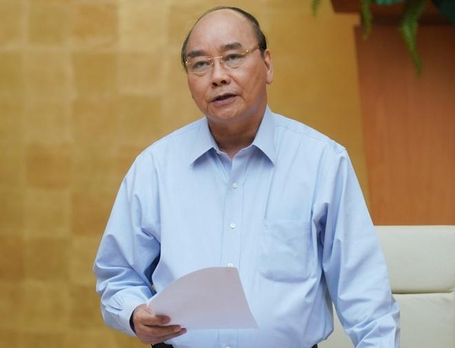 Thủ tướng Nguyễn Xuân Phúc.