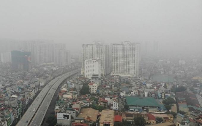 Chỉ số ô nhiễm của Hà Nội trở lại vị trí cao nhất thế giới