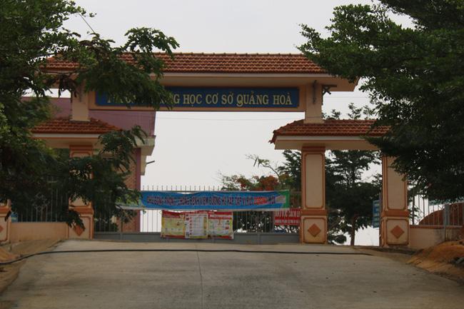 Trường THCS Quảng Hòa.