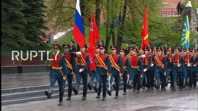 Đây là lần đầu tiên kể từ năm 1995, lễ duyệt binh không diễn ra vào Ngày Chiến thắng 9/5