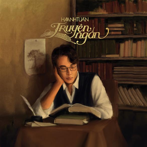 Bìa album được lấy cảm hứng từ hội họa - Ảnh: VietVision