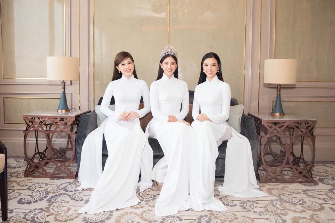 Top 3 Hoa hậu Việt Nam 2018: Trần Tiểu Vy, Bùi Phương Nga, Nguyễn Thị Thúy An