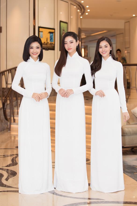 Top 3 Hoa hậu Thế giới Việt Nam 2019: Lương Thùy Linh, Nguyễn Hà Kiều Loan và Nguyễn Tường San - Ảnh: BTC