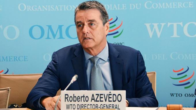 Tổng giám đốc Tổ chức Thương mại thế giới (WTO) Roberto Azevêdo