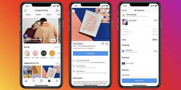 Giao diện tính năng bán hàng online Facebook Shops - Ảnh: 9TO5MAC