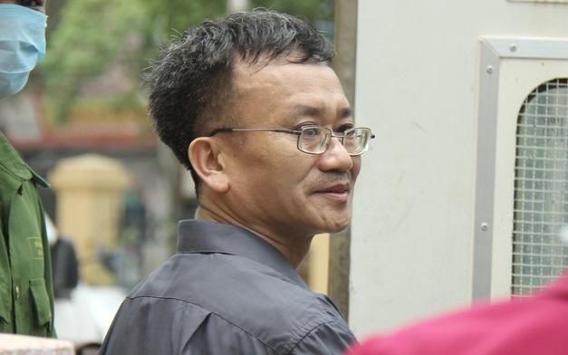Bị cáo Nguyễn Quang Vinh.