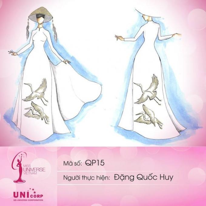 Hiện tại, ban tổ chức cuộc thi đã được nhiều nhận bản vẽ thiết kế trang phục dân tộc cho Khánh Vân tạiMiss Universe 2020.