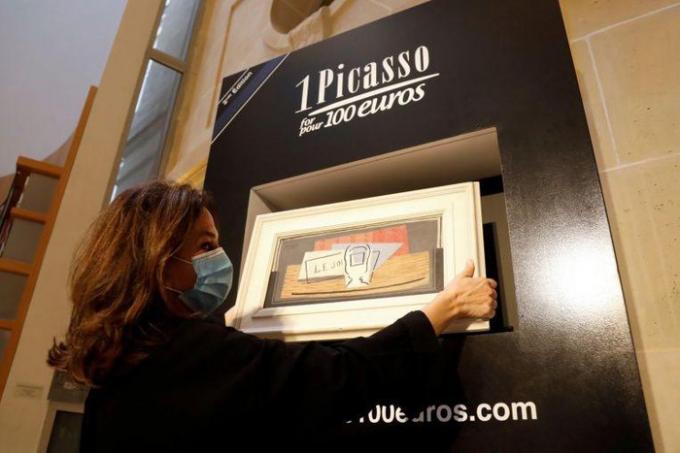 """Nature Morte"" của danh họa Tây Ban Nha Pablo Picasso."