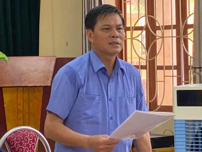 Chủ tịch UBND TP. Hải Phòng - ông Nguyễn Văn Tùng.