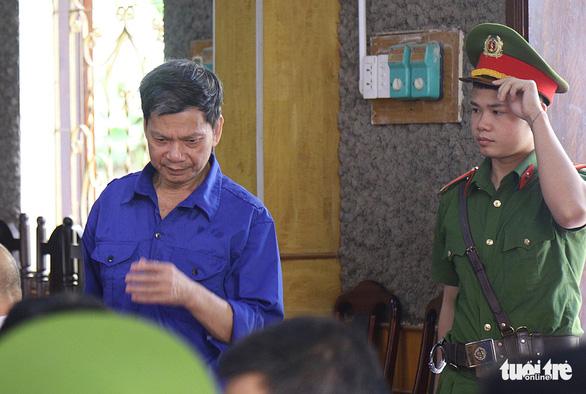 Bị cáo Lò Văn Huynh tại tòa - Ảnh: DANH TRỌNG