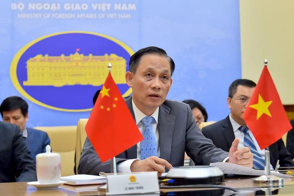 Thứ trưởng Bộ Ngoại giao Lê Hoài Trung.