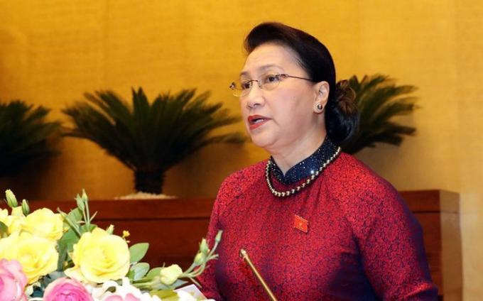 Bà Nguyễn Thị Kim Ngân.