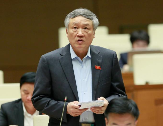 Chánh án TAND Tối cao Nguyễn Hòa Bình. Ảnh: Hải Quân.