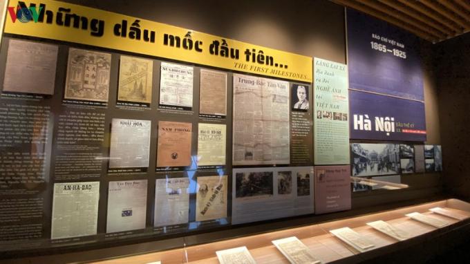 Bức tranh toàn cảnh về báo chí Việt Nam trong Bảo tàng Báo chí Việt Nam