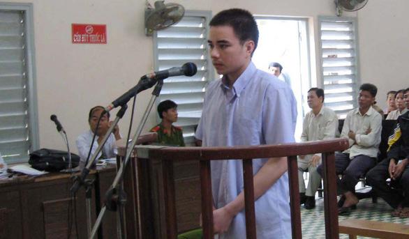Bị cáo Hồ Duy Hải tại một phiên tòa - Ảnh tư liệu